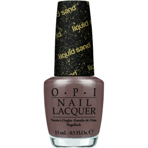 It's all San Andrea's Fault-OPI Liquid Sand