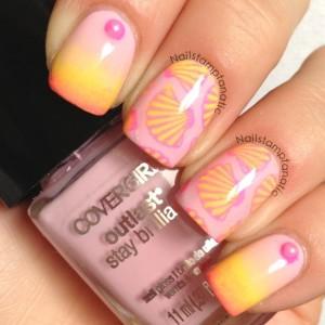 Advance nail stamping
