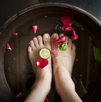 Stock-exchange-Woman-soaking-feet-at-spa-4-21-12