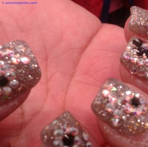 sparkly nails_marked