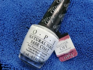 My hero - Glitter Off by OPI