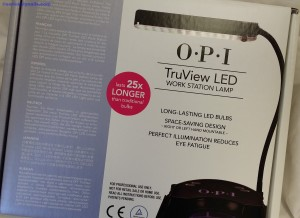 TRUView LED lamp