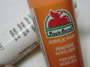 Easy to use acrylic paints
