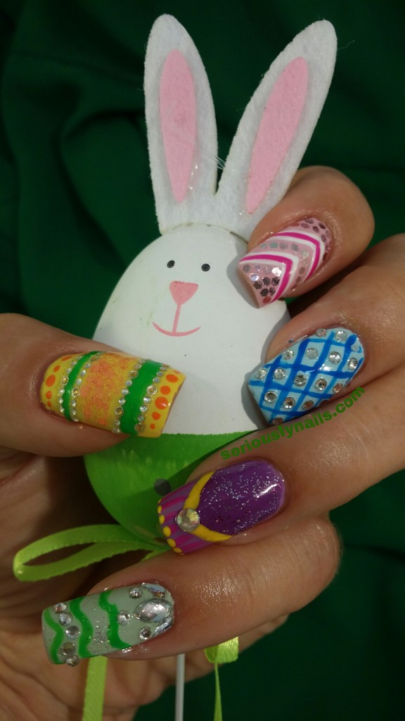 Easter Eggs for Challenge Your Nail Art