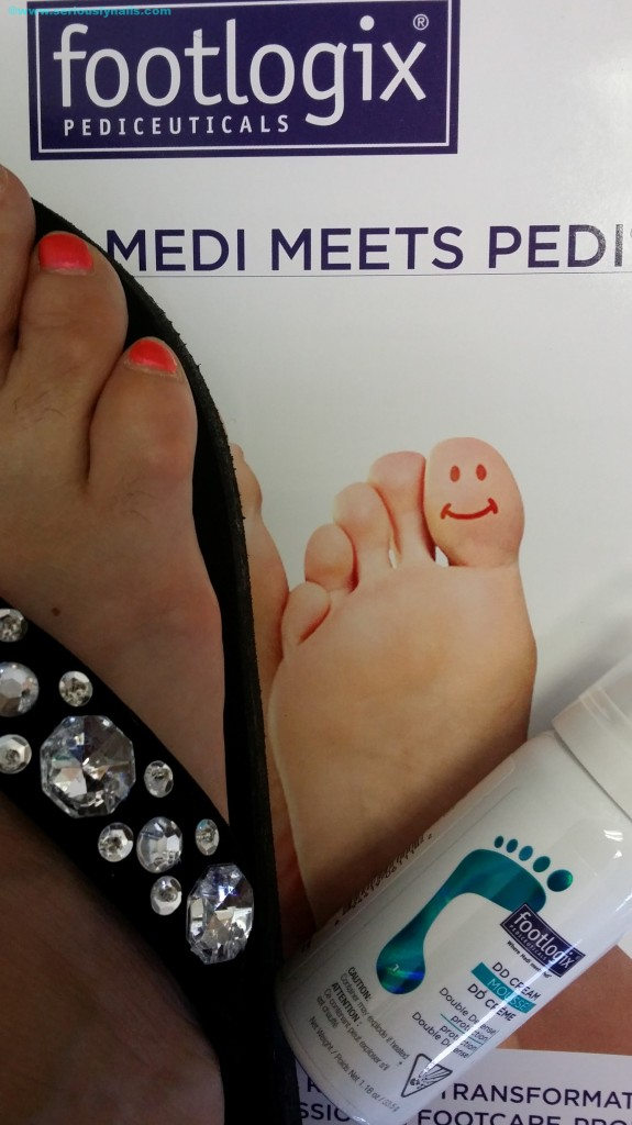 Happy Feet with DD Mousse Cream