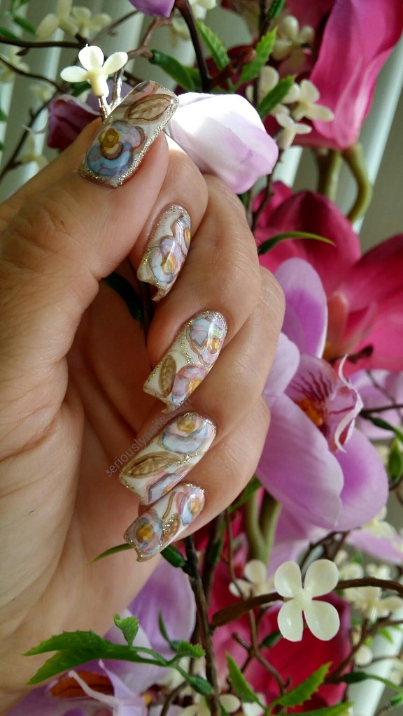from my 1st nail art class with Neiru