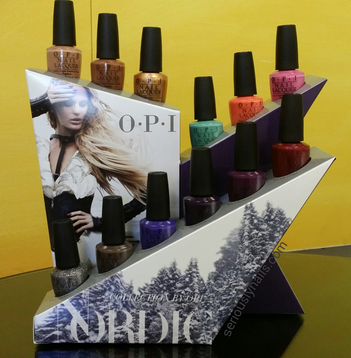 Nordic Collection by OPI release date August 6, 2014