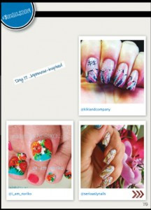 from Nail Art Gallery Magazine September issue