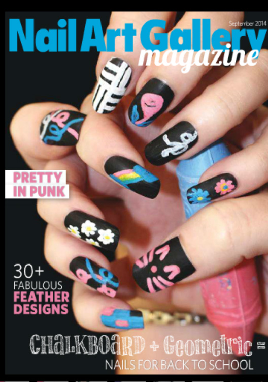 Nail Art Gallery Magazine September 2014 | Seriously Nails