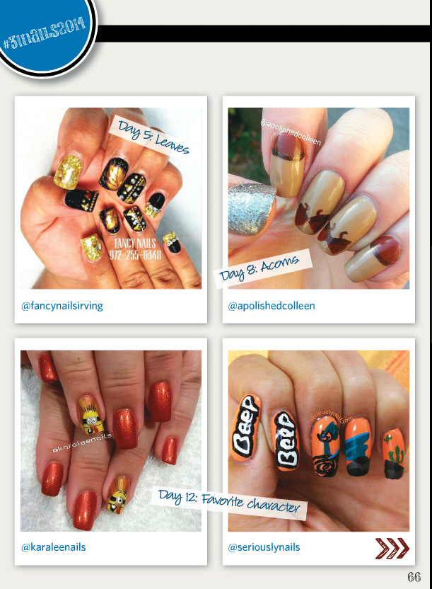 December Nail Art Gallery Magazine is out! | Seriously Nails