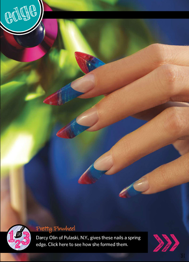 from Nails Magazine Nail Art Gallery January 2015