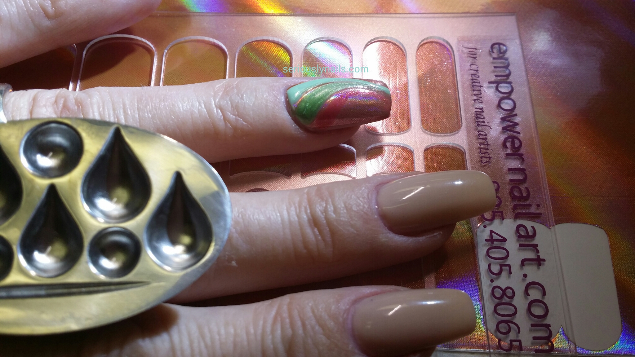 Empower Nail Art And The Ring Thing Seriously Nails