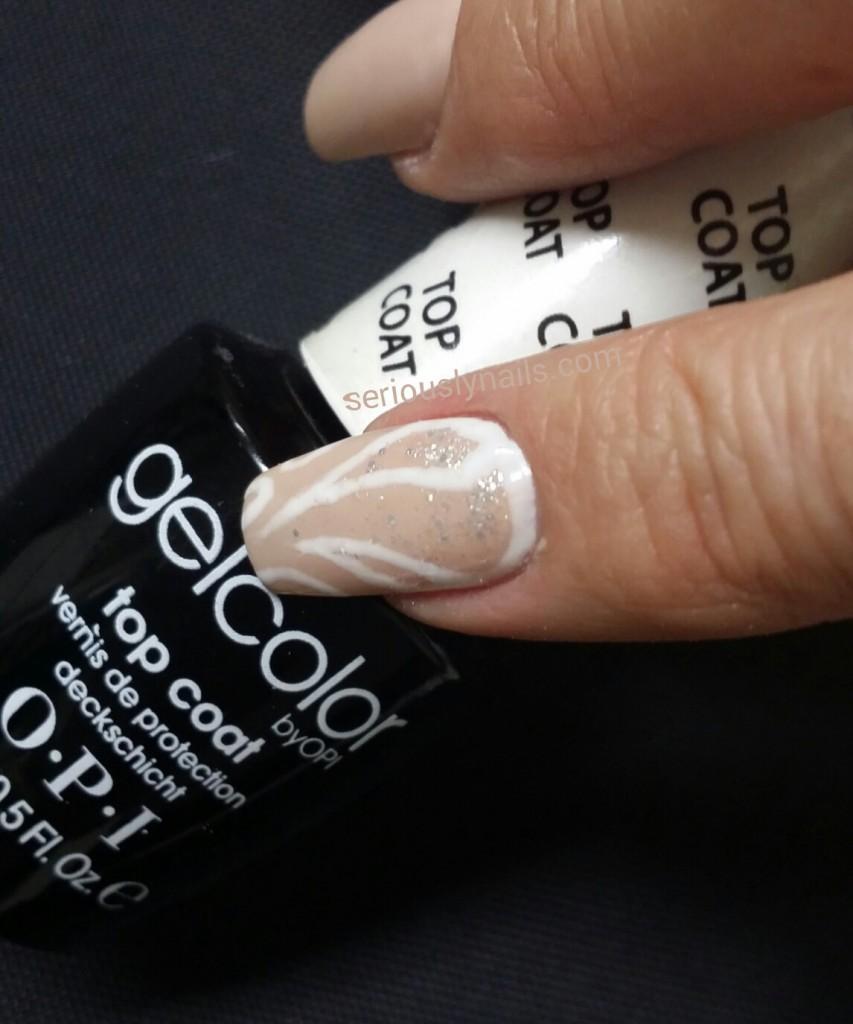 OPI Gel Color Nail Art!