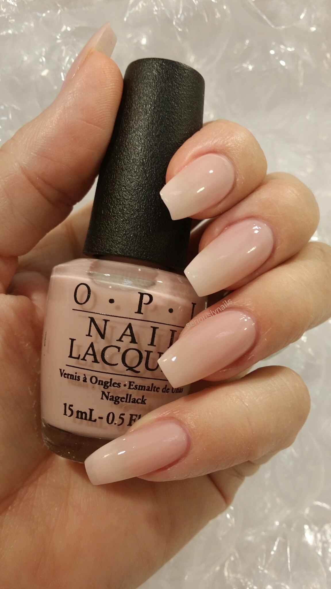 New York Fashion Week Opi Seriously Nails