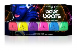 Baby beats features 6 mini nail lacquers to change your colors on a whim!