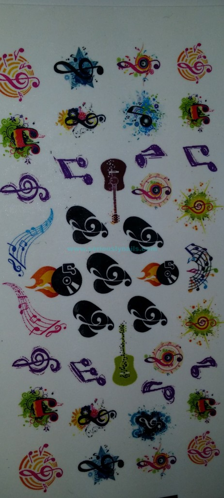 sheet music decals by Moon Sugar Decals!!!!