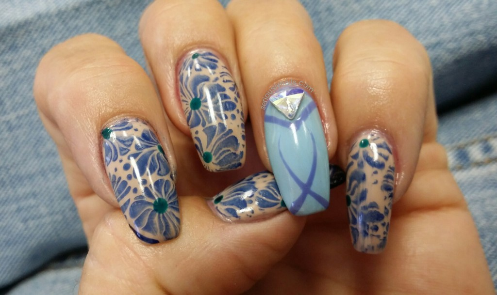 Perfect jeans Nail Art