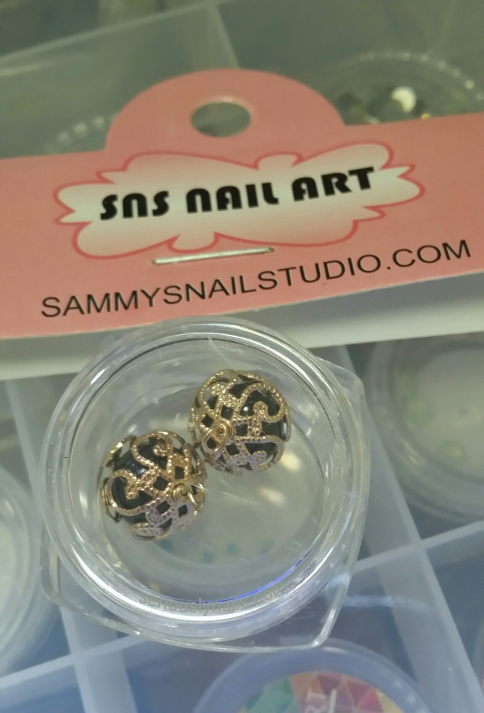 Nail Charms from Sammys Nail Studio
