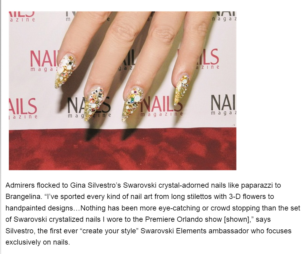 from Nails Magazine Sept 30, 2014