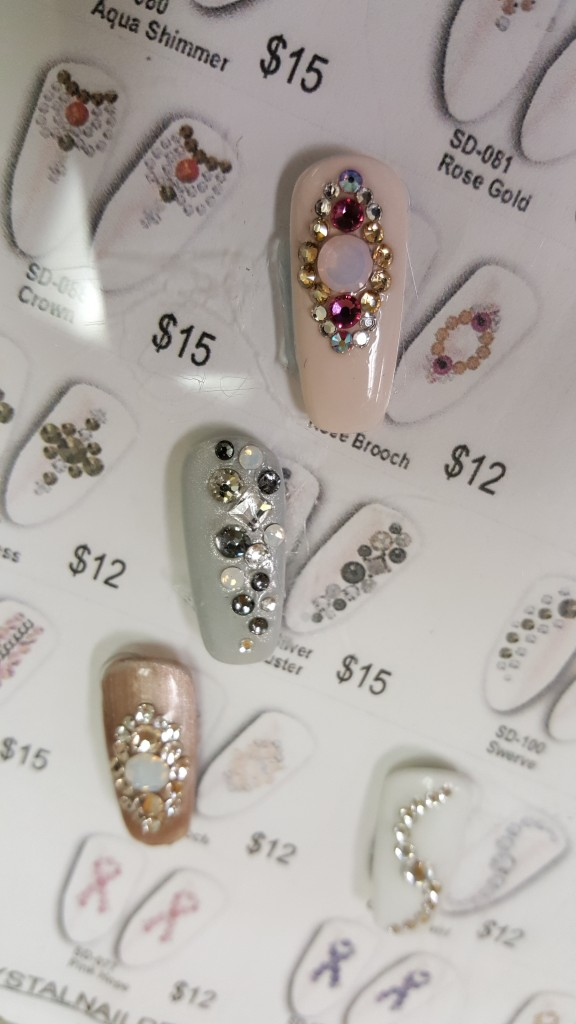 Crystal Culture Swarovski® Nail Designs | Seriously Nails